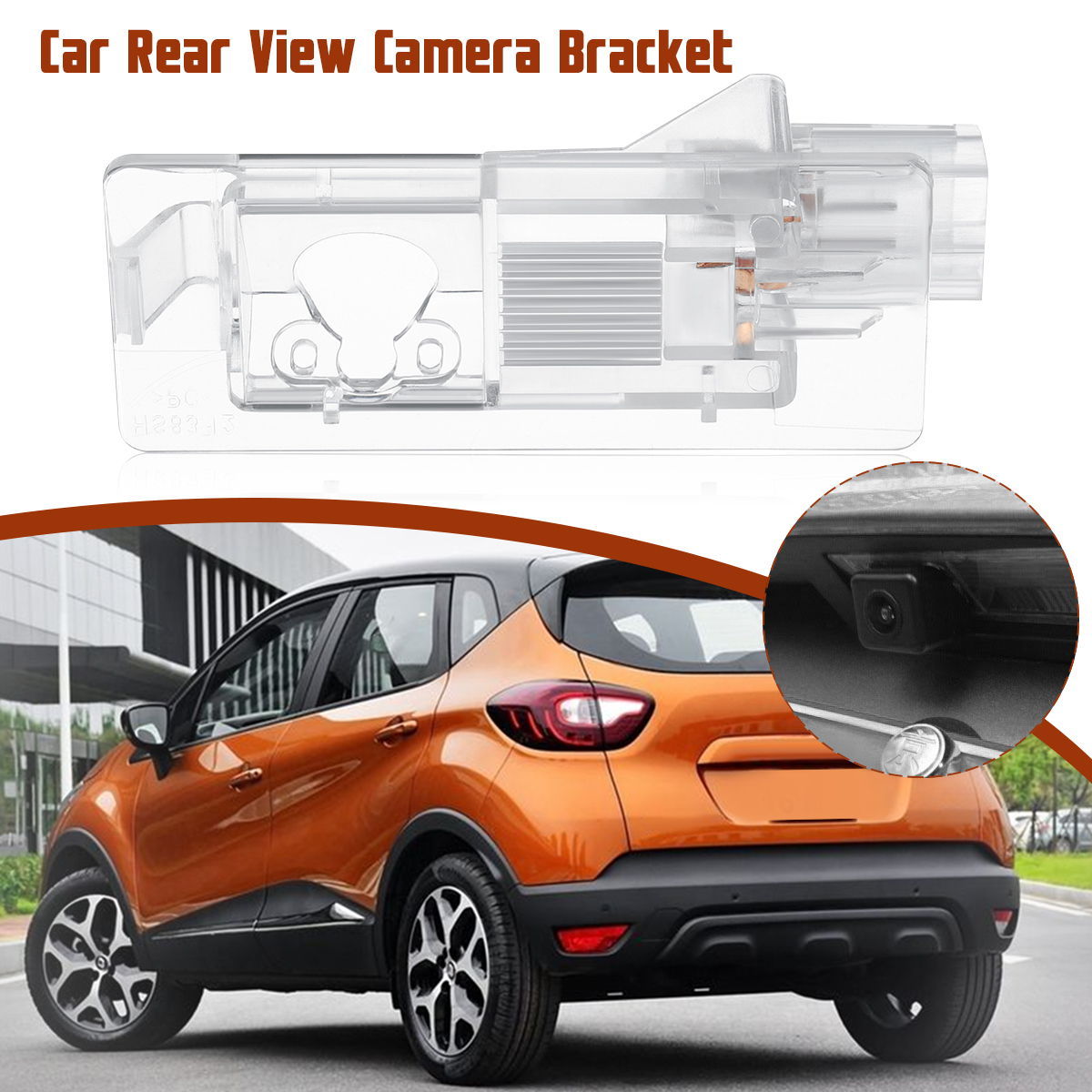 Car Parking Rear View Camera Bracket For Renault Modus Grand Scenic Lodgy Captur Duster Latitude Fluence Symbol Megane 3 Clio 4
