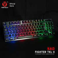 FANTECH K613 84 touches LED clavier de jeu haute durabilité clé 19 boutons n'ont pas de conflits pour LOL FPS PC choix du joueur de jeu