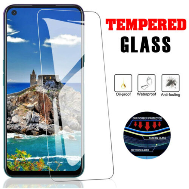 3Pcs Tempered Glass for OPPO A91 A72 A73 5G A92 A5 A9 2020 Screen Protector  for OPPO A53 A52 A54 A55 A32 A31 A74 Glass 2