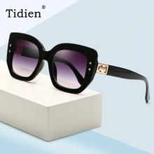 Fashion Women Sunglasses 2019 New Brand Designer Vintage Retro Square Luxury Driving Clear Sun Glasses for UV400 Tidien 39021