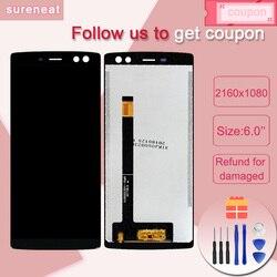 Do Doogee BL12000 BL12000 Pro wyświetlacz LCD + ekran dotykowy akcesoria do wymiany zespołu Doogee BL 12000 BL 12000 Pro