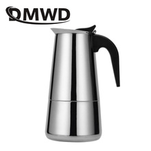 Percolator Coffee-Maker Espresso Kitchen-Tool Cafetiere Moka DMWD Stainless-Steel Kettles
