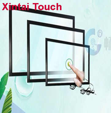 55 inch IR Touch Screen,55 inch ir multi touch screen panel, 10 points IR Multitouch Touch Screen Frame for Terminal kiosk