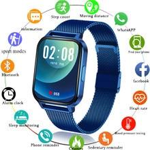 LIGE New 1.7″ Large Screen Men Smart Watch Wristband Men Sport Clock Heart Rate Monitor Sleep Monitor Waterproof Smartwatch Men