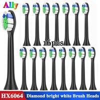 Для Philips Sonicare Diamond Clean White HX6064 сменные насадки для зубных щеток proresyota FlexCare здоровая белая электрическая зубная щетка