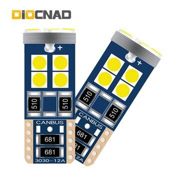 2x Canbus W5W T10 Car LED Light Auto Bulb Lamp For bmw e46 e90 e60 e39 e36 f10 f30 f20 e87 x5 e70 e91 e34 g30 e92 x5 e53 e30 f11