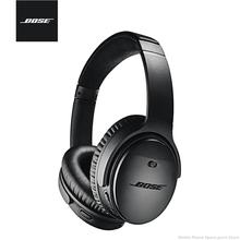 Oryginalny zestaw słuchawkowy Bose QuietComfort35 II bezprzewodowy zestaw słuchawkowy z redukcją szumów zestaw słuchawkowy Bluetooth aktywna redukcja szumów tanie tanio douszne Elektrostatyczne CN (pochodzenie) wireless do telefonu komórkowego Słuchawki HiFi Sport instrukcja obsługi Etui ładujące
