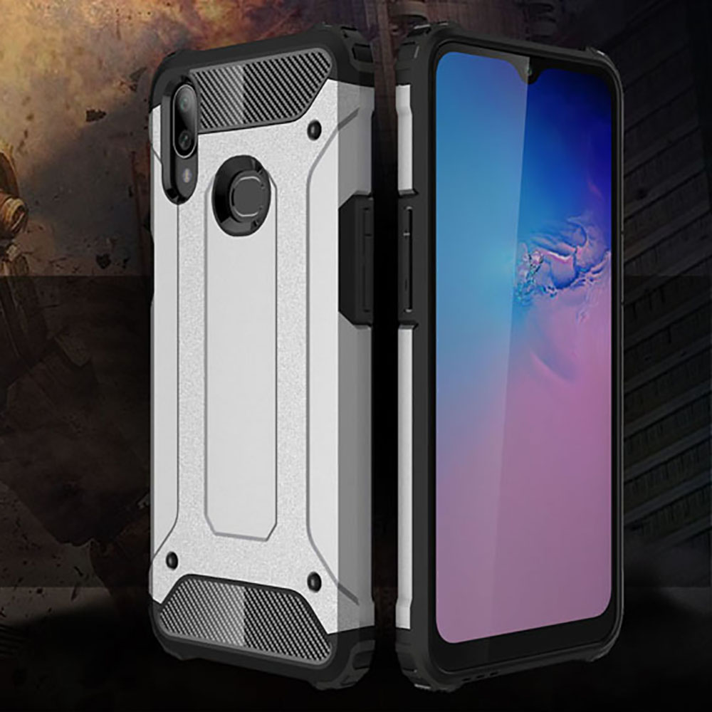 Shockproof Armor Coque Cover SFor Samsung Galaxy A10S Case For Samsung Galaxy A10S SM-<font><b>A107F</b></font> SM <font><b>A107F</b></font> Phone Back Coque Cover Case image