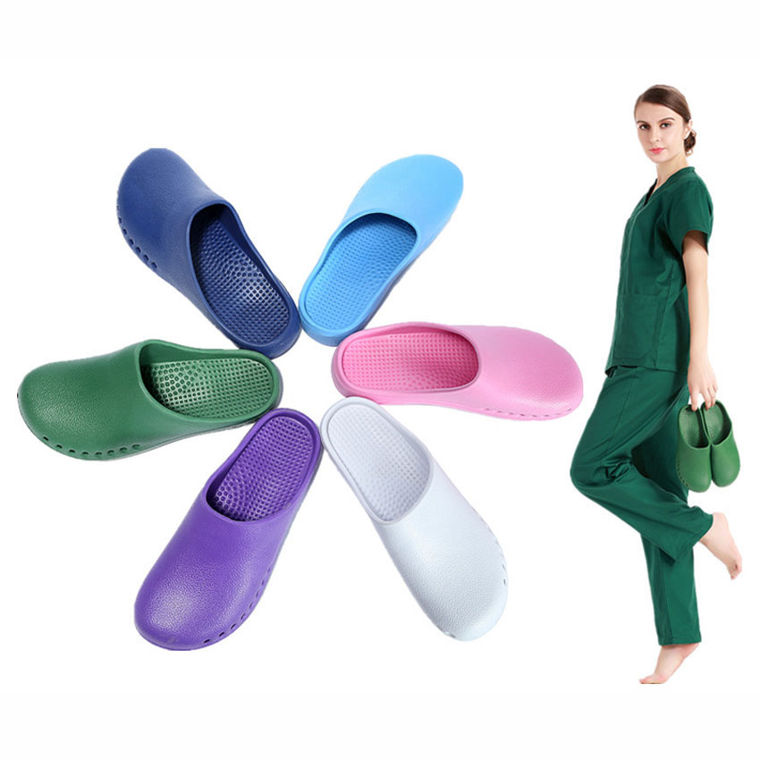 Medical Clogs Shoes For Women Hospital Doctor Nurse Surgical Surgery Operating Room Ultralite Scrub Shoes Man Lab Slippers
