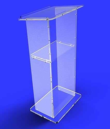 Leuchte Displays Podium, Plexiglas Plexiglas Lucit Rednerpult Kanzel Montiert MONTIERT plexiglas