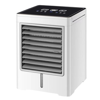 цена на Portable Air Conditioner Touch Screen Mini Air Cooler Desktop Usb Cold Fan Home Small Water Cooled Air Conditioning Fan