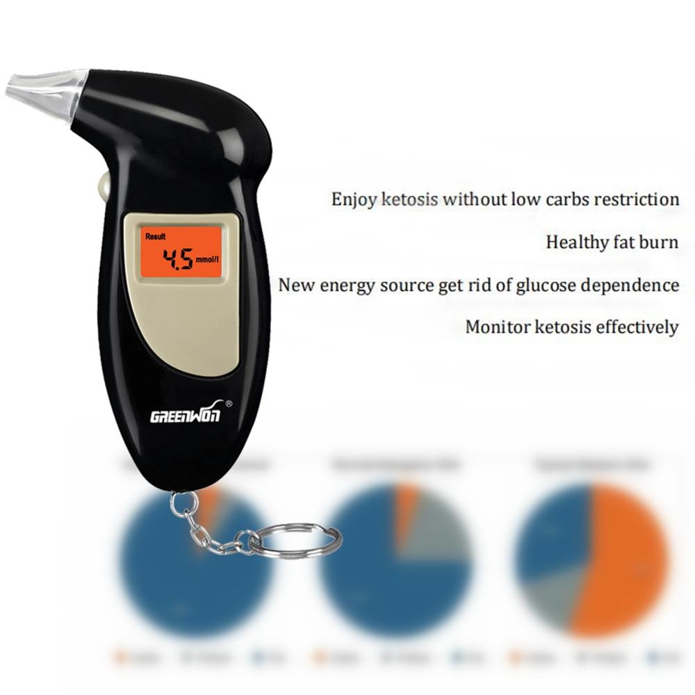 GREENWON Breath keyto tester health care monitor for fat burn breath keto meter