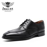 Desai Marke Herren Schuhe Casual Echtem Leder Luxus Designer Sozialen Fahren Kleid Formalen Schuh Hersteller