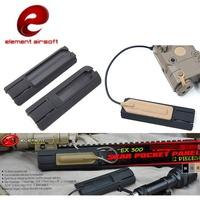"Element Airsoft 4 125 ""ITI TD Narbe Tasche Panel Schiene Cover Remote Schalter Pad Jagd Taktische Waffe Zubehör EX300-in Jagdwaffenzubehör aus Sport und Unterhaltung bei"