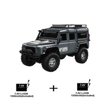 ZP1001 1/10 2.4G 4WD Rc Car 2 Battery Toys Proportional Control Retro Vehicle W/ LED Light RTR Model Remote Control Kid Toys,Gre lacywear s 1 gre