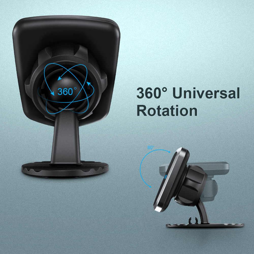 """MEIDI samochodowy magnetyczny uchwyt na telefon Dashboard uchwyt do telefonu kompatybilny z 3.5 """"-6.5"""" Smart Devices stojak na iphone'a Huawei Samsung"""