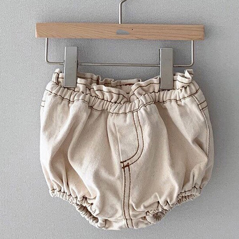 2020 Baby Boys Denim Shorts Infant Toddler Baby Girls PP Shorts Diaper Cover Denim Shorts Kids Jeans Pant Bloomers Baby Shorts 2