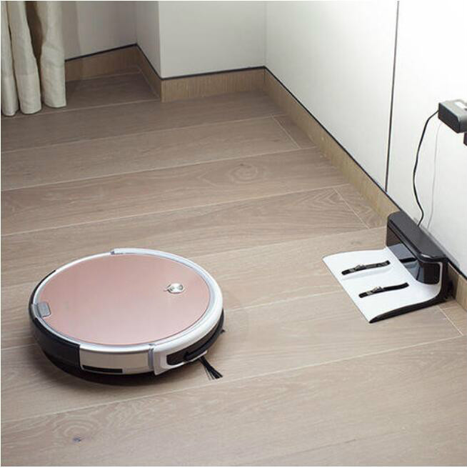 ILIFE X620 Robot Vacuum Cleaner Sweep and Wet Mopping Disinfection For Hard Floors&Carpet Run 120mins Automatically Charge 6