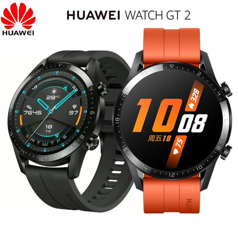 Huawei GT2 Watch GT 2 GPS BT5.1 Heart Wate Blood Pressure Monitor Wristband 5ATM Waterproof Sport Smartwatch for Android iOS|Smart Watches| - AliExpress