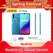 Realme c3 мобильный телефон Глобальная версия 5000 мА/ч 3 Гб