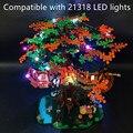 Новый 1 Набор дерево дом Светодиодная лампа legglys набор только для legglys 21318 идеи Treehouse кирпичи игрушки с