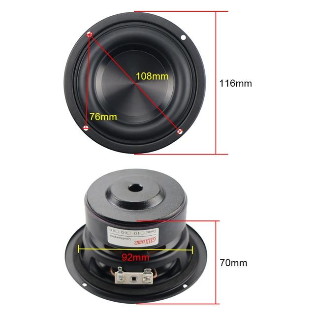 4 Inch Woofer Speaker 40W 67Hz - 3500Hz 3