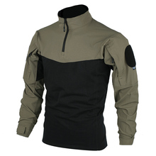 Quick-Dry Shirt Combat-Outfit-Tactical TRN BAC Training Police-Blue Elastic XXL Breathable