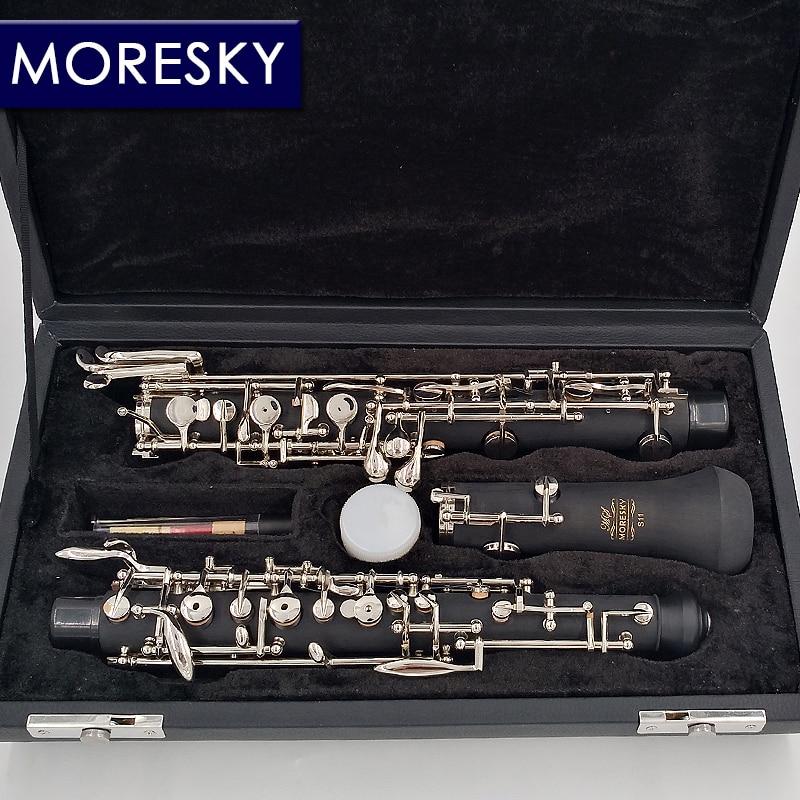 MORESKY professionnel C clé hautbois Style semi-automatique Cupronickel nickelplate MORESKY hautbois S11