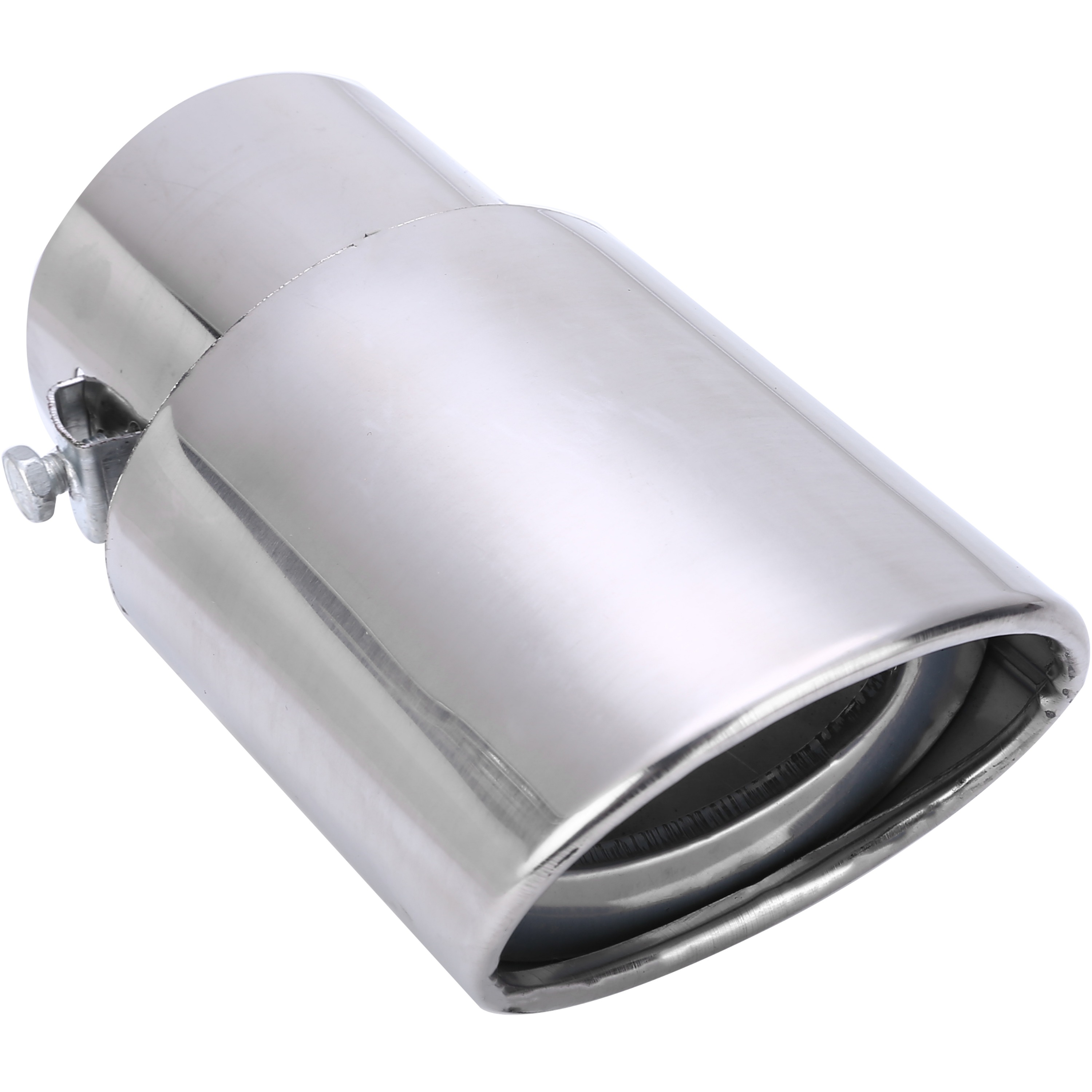 2017 Hot Sale Universal Car Rear Round Stainless Steel Exhaust Muffler Tail Pipe Tip Accessories