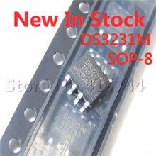 5 шт./лот 100% качество DS3231 DS3231M DS3231MZ DS3231MZ + SOP-8 SMD микросхема для часов в режиме реального времени