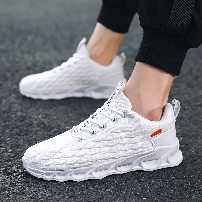 New Fashion Men Shoes Sneakers Flat Male Casual Shoes Comfortable Men  Footwear Breathable Mesh