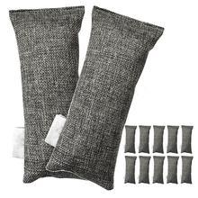 Bags Shoe-Deodorizer Air-Purifier Pack-Of-12-Bags Odor-Eliminator Bamboo-Charcoal 12-Packs