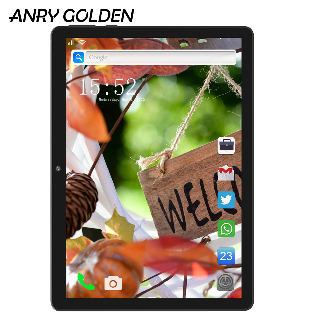 Original New ANRY RS10 10 Inch Tablet 1GB RAM 16GB ROM MTK6580 Quad Core Android 7.0 Kids Tablet 5000mAh 1280x800