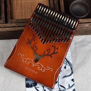 Image 5 - 17 مفاتيح الثور كاليمبا الإبهام البيانو الماهوجني الجسم آلة موسيقية أفضل جودة والسعر