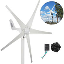 VEVOR 500W Wind Turbine Generator 12V/24V 5 Blades with Charge Controller Low Wind Speed Start for Windmill Home RV Yacht Farm