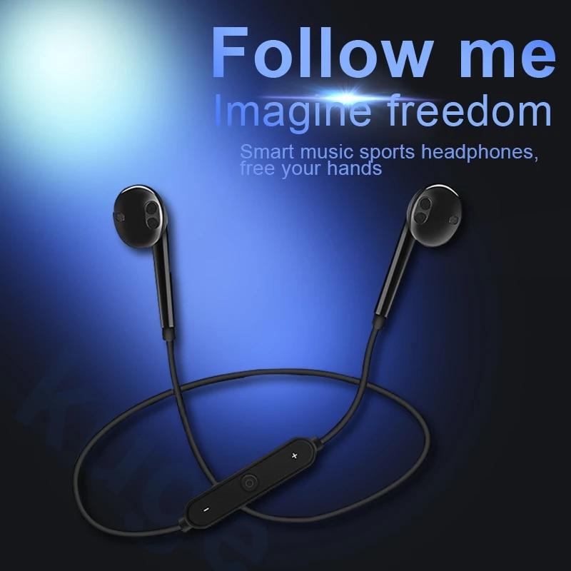 Беспроводная Bluetooth-гарнитура S6, спортивные наушники, 3D стерео Встроенный микрофон, проекция, поддержка различных приложений