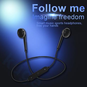 S6 bezprzewodowy zestaw słuchawkowy Bluetooth słuchawki sportowe 3D Stereo wbudowany mikrofon stylowy zestaw słuchawkowy Bluetooth obsługa różnych aplikacji tanie i dobre opinie KUGE Inne CN (pochodzenie) Bezprzewodowy + Przewodowe Do Internetu Bar Monitor Słuchawkowe Do Gier Wideo Wspólna Słuchawkowe