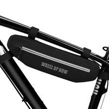 Велосипедная сумка треугольная водонепроницаемая верхняя труба
