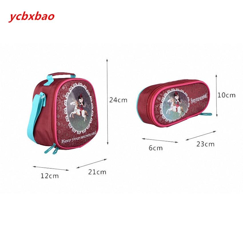 3 uds. Mochila escolar para niños mochilas para ordenador portátil para niñas con ruedas mochilas para niños equipaje de gran capacidad mochilas de escuela para niñas - 4