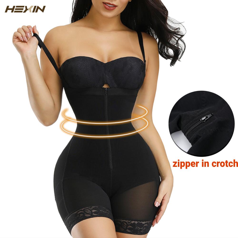 HEXIN Women Slimming Body Shaper Seamless Butt Lifter Bodysuits Push Up Shapewear Underwear Corset Fajas Colombianas Waist Train