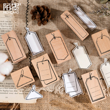 Wooden Rubber-Stamp Scrapbooking Craft Standard-Seal Deco To Yoofun DIY Escolar Tag-Style