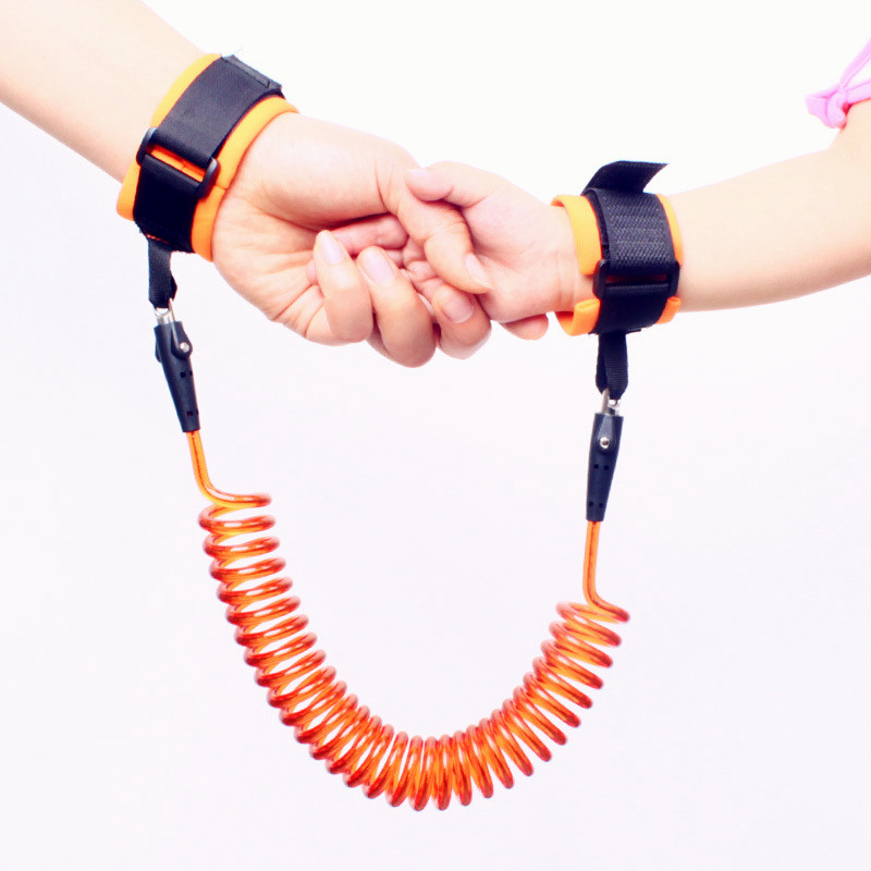 Wristband Bracelet Harness-Strap Anti-Lost Baby Kids Children Rope-Leash Safety for Adjustable