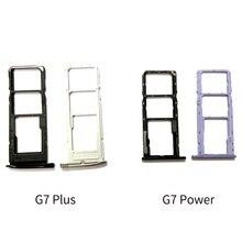 20pcs Für Motorola Moto G7 Plus G7 Power SIM Karte Tray Halter Reader Slot Adapter