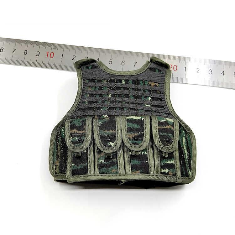 1/6 Camouflage Tactische Vest Modellen Voor 12''figures Lichamen Accessoires