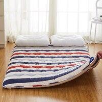 HAUSBAY Full Queen Size Mattress Tatami Mat 7cm Thickness for Bedroom Sleeping on Floor Mat Folding Mats Mattress Cushion MT001
