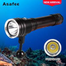 2500LM NEW Underwater Flashlight Diving 1x XHP50 LED 20W  / Waterproof 30-50M TORCH