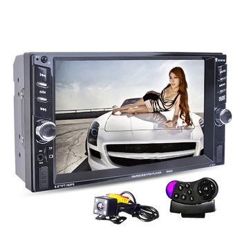 2Din 6.6 Inch Car Radio Mp5 Player Press Screen Fm Bluetooth Stereo Audio Player