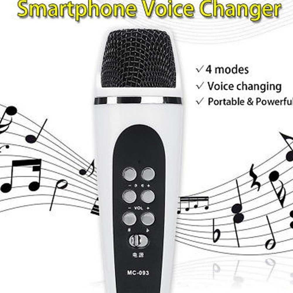 4 Mode Voice Changer Microphone For Iphone Apple Smartphone Cellphone PC Android Dropshipping image