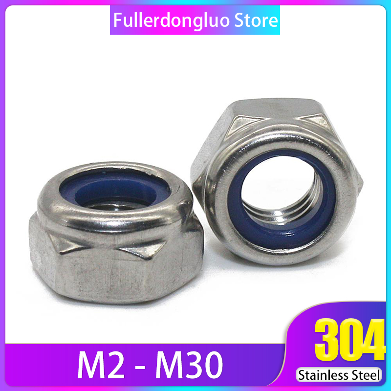 M3 3mm M4 sizes 2.5mm Metric Hex Nuts Stainless Steel M2.5 4mm
