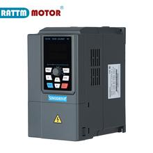 цена на Good quality ZC1000-4T-4kw 380V inverter VFD 3 phase Output Frequency Converter Adjustable Speed 600Hz 8.5A/13A Speed control